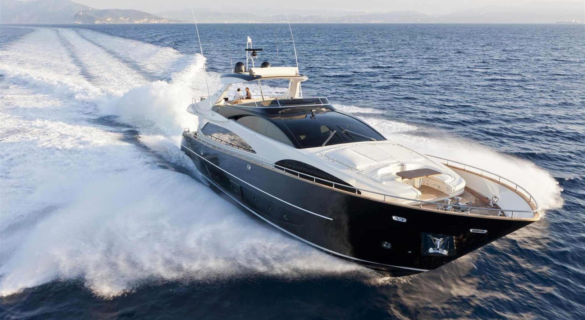 Foto barco para motores marinos